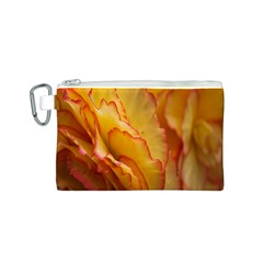 Flowers Leaves Leaf Floral Summer Canvas Cosmetic Bag (s)