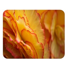 Flowers Leaves Leaf Floral Summer Double Sided Flano Blanket (large)