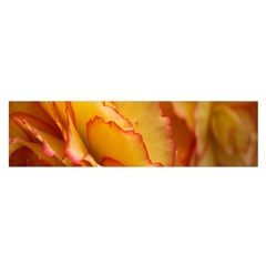 Flowers Leaves Leaf Floral Summer Satin Scarf (oblong)