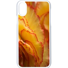 Flowers Leaves Leaf Floral Summer Apple Iphone X Seamless Case (white)