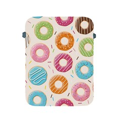 Colored Doughnuts Pattern Apple Ipad 2/3/4 Protective Soft Cases