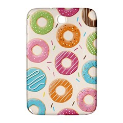 Colored Doughnuts Pattern Samsung Galaxy Note 8 0 N5100 Hardshell Case