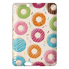 Colored Doughnuts Pattern Kindle Fire Hdx Hardshell Case
