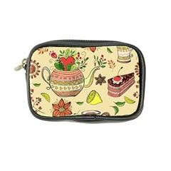 Colored Afternoon Tea Pattern Coin Purse