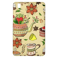 Colored Afternoon Tea Pattern Samsung Galaxy Tab Pro 8 4 Hardshell Case