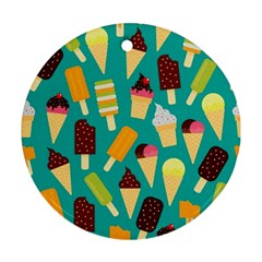 Summer Treats Ornament (round)
