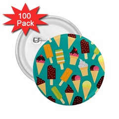 Summer Treats 2 25  Buttons (100 Pack)