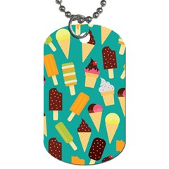 Summer Treats Dog Tag (two Sides)