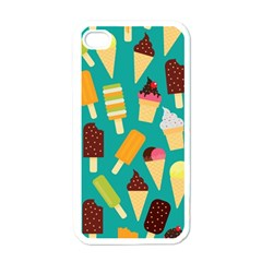 Summer Treats Apple Iphone 4 Case (white)