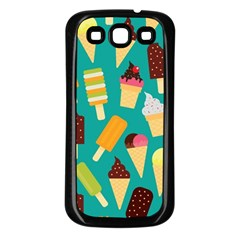 Summer Treats Samsung Galaxy S3 Back Case (black)