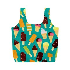 Summer Treats Full Print Recycle Bags (m)