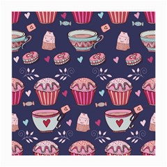 Afternoon Tea And Sweets Medium Glasses Cloth (2 Side)