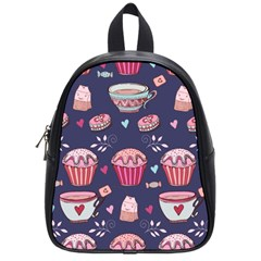 Afternoon Tea And Sweets School Bag (small)