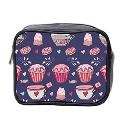 Afternoon Tea And Sweets Mini Toiletries Bag 2 Side