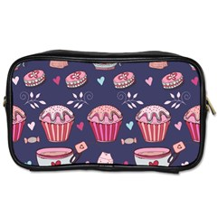 Afternoon Tea And Sweets Toiletries Bags 2 Side