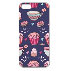 Afternoon Tea And Sweets Apple Seamless Iphone 5 Case (clear)