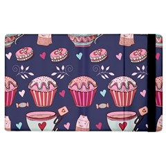 Afternoon Tea And Sweets Apple Ipad 2 Flip Case