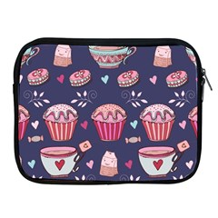 Afternoon Tea And Sweets Apple Ipad 2/3/4 Zipper Cases