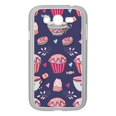 Afternoon Tea And Sweets Samsung Galaxy Grand Duos I9082 Case (white)
