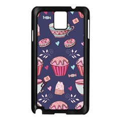 Afternoon Tea And Sweets Samsung Galaxy Note 3 N9005 Case (black)