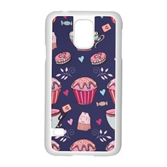 Afternoon Tea And Sweets Samsung Galaxy S5 Case (white)