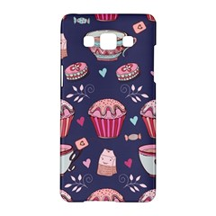 Afternoon Tea And Sweets Samsung Galaxy A5 Hardshell Case