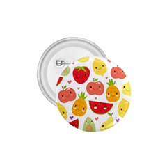 Happy Fruits Pattern 1 75  Buttons