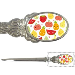 Happy Fruits Pattern Letter Openers