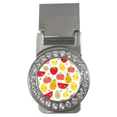 Happy Fruits Pattern Money Clips (cz)