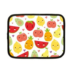 Happy Fruits Pattern Netbook Case (small)