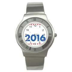 Wtf? 2016 Stainless Steel Watch
