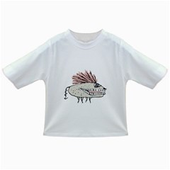 Monster Rat Hand Draw Illustration Infant/toddler T Shirts