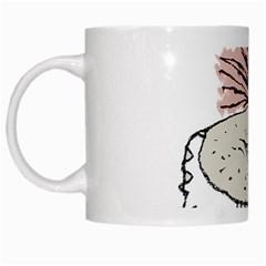 Monster Rat Hand Draw Illustration White Mugs