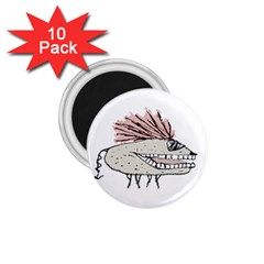 Monster Rat Hand Draw Illustration 1 75  Magnets (10 Pack)