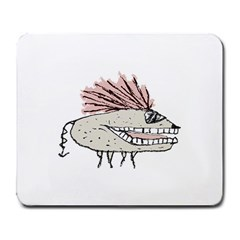 Monster Rat Hand Draw Illustration Large Mousepads