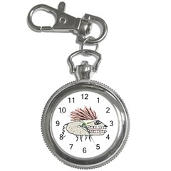 Monster Rat Hand Draw Illustration Key Chain Watches