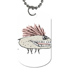 Monster Rat Hand Draw Illustration Dog Tag (one Side)