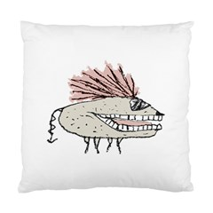 Monster Rat Hand Draw Illustration Standard Cushion Case (two Sides)