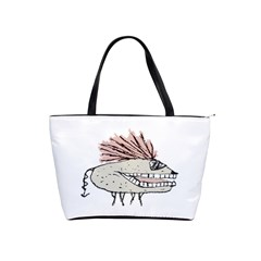 Monster Rat Hand Draw Illustration Shoulder Handbags