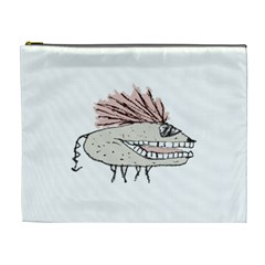 Monster Rat Hand Draw Illustration Cosmetic Bag (xl)