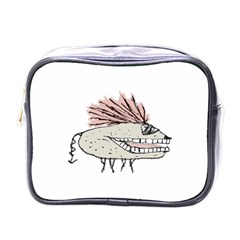 Monster Rat Hand Draw Illustration Mini Toiletries Bags
