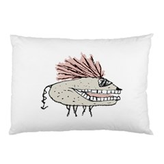 Monster Rat Hand Draw Illustration Pillow Case (two Sides)