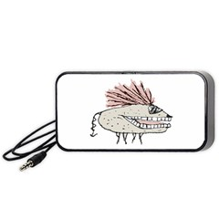 Monster Rat Hand Draw Illustration Portable Speaker