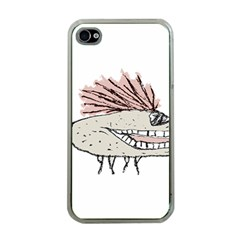 Monster Rat Hand Draw Illustration Apple Iphone 4 Case (clear)