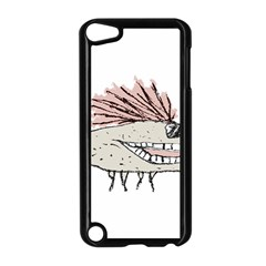 Monster Rat Hand Draw Illustration Apple Ipod Touch 5 Case (black)