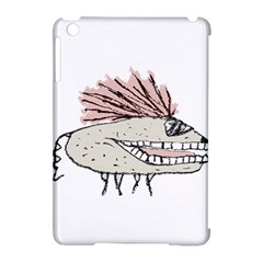 Monster Rat Hand Draw Illustration Apple Ipad Mini Hardshell Case (compatible With Smart Cover)