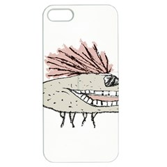Monster Rat Hand Draw Illustration Apple Iphone 5 Hardshell Case With Stand