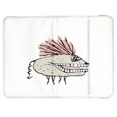 Monster Rat Hand Draw Illustration Samsung Galaxy Tab 7  P1000 Flip Case