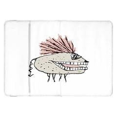 Monster Rat Hand Draw Illustration Samsung Galaxy Tab 8 9  P7300 Flip Case