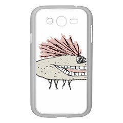 Monster Rat Hand Draw Illustration Samsung Galaxy Grand Duos I9082 Case (white)